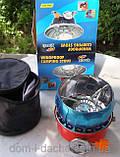 Баллон Пикник Italy Ruddy RK-1,2,3 туристический набор емкостью 2.5,5.0,8.0,12.0л.,портат.газ. примуса Лепесто, фото 4