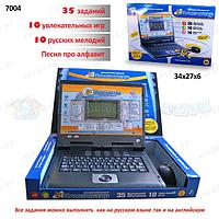 Компьютер детский 7004 русско-английский