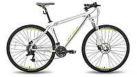 Велосипед 26'' PRIDE XC-26 MD бело-зеленый матовый 2015