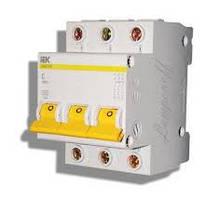 Автоматический выключатель, автомат ВА47-29М 3P 10A 4,5кА х-ка C ИЭК