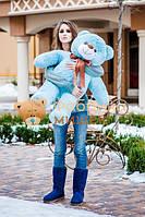 Мишка голубой 110 см