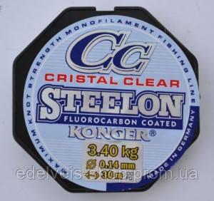 Леска Konger Steelon  CC (флюорокарбон) 50метров 0.18, фото 2