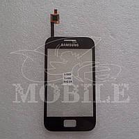 Сенсор Samsung S7500 Galaxy Ace Plus (KTL) black h.c.