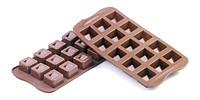 Силиконовая форма для шоколада куб 26х26 мм h 18 мм Silikomart SCG02