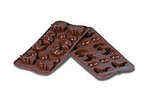 Силиконовая форма для шоколада Пасха 30х43 мм h 16 мм Silikomart SCG05