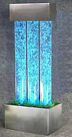 """Световое решение для сенсорной комнаты: Пузырьковая колонна на подставке """"Трио"""" на 16 оттенков 15х36х65 см"""