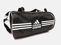 Спортивная сумка цилиндр Adidas  ( Адидас) . Черная реплика, фото 1