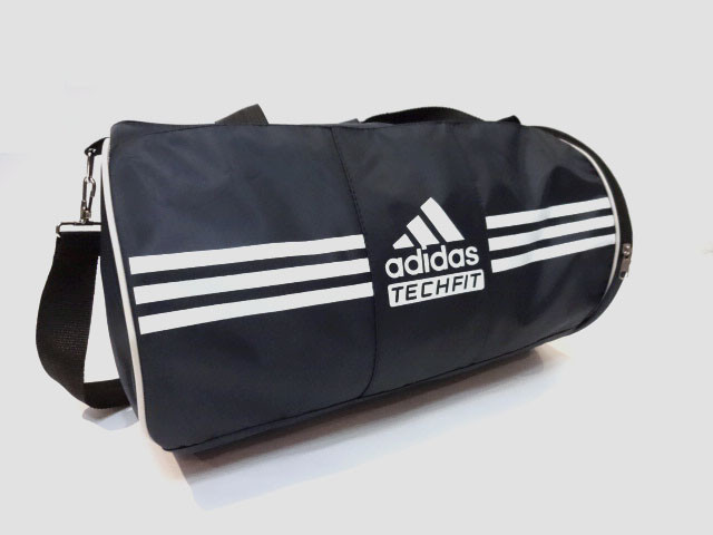 ac8b9dbe763f Спортивная сумка цилиндр Adidas ( Адидас) . Темно - синяя реплика -  LetsDress-Shop