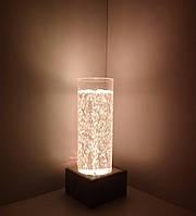 Световое решение для сенсорной комнаты: Пузырьковая колонна светящаяся ТР200М на 16 цветовых оттенков, H=70 см, фото 1