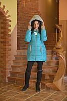 Куртка женская для беременных зимняя колокольчик PS028-3