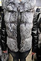 Куртка женская 8622-1/59 чернобурка
