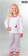 Пижама детская для девочки WIKTORIA W28