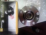 Комплект подшипника ступицы задней VW POLO (9N,6R,6C) без АБС (6Q0598611) производит Starline LO23567, фото 2