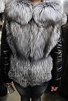 Куртка женская D11020/58 чернобурка