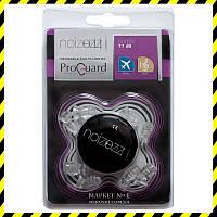 Беруши для полётов, защиты от музыки ProGuard Noizezz Purple.
