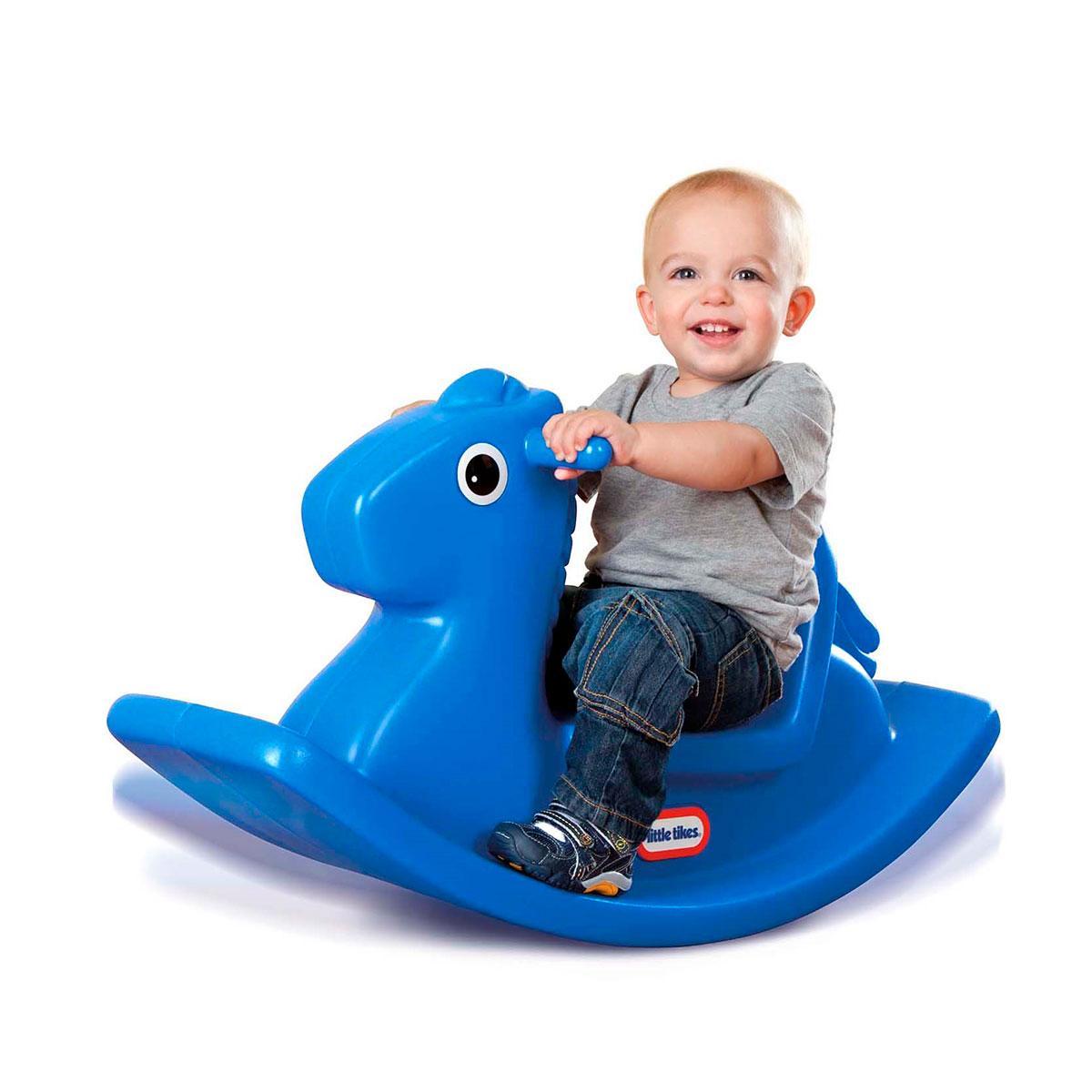 Качалка - Веселая лошадка S2 (синяя) Little Tikes