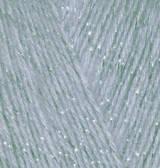 Пряжа для вязания Ангора голд СИМЛИ серый 21