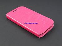 Чехол книжка для Samsung Galaxy S3 I9300i розовый