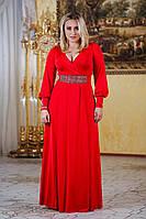 Д1021 Вечернее платье размеры 50-54