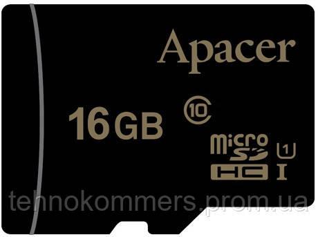 MicroSDHC (UHS-1) Apacer 16Gb class 10, фото 2