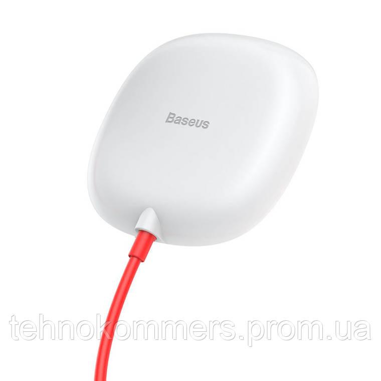 Бездротовий зарядний пристрій Baseus Suction Cup WirelessCharger White, фото 2