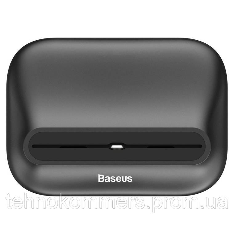 Бездротовий зарядний пристрій Baseus Little Volcano Black, фото 2