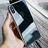Захисне скло Baseus 0.3mm All-coverage Back Glass Space gray for iPhone X, фото 3