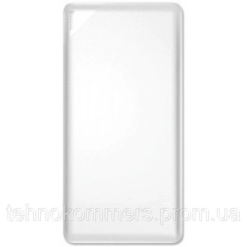 Зовнішній акумулятор Baseus Mini Cu Power Bank 10000mAh White