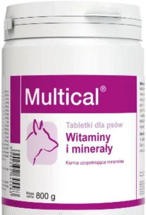 """МУЛЬТИКАЛЬ MULTICAL""""DOLFOS витаминно-минеральный препарат для собак, 800 гр, 510 таблеток"""