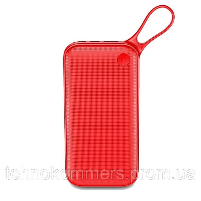 Зовнішній акумулятор Baseus Powerful 20000 mAh Red