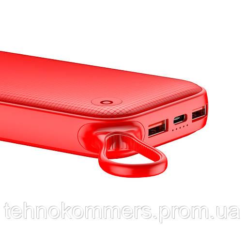 Зовнішній акумулятор Baseus Powerful 20000 mAh Red, фото 2