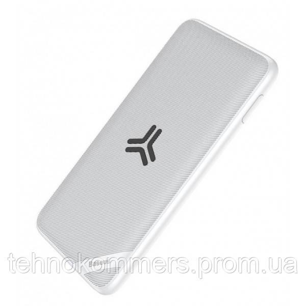 Зовнішній акумулятор Baseus S10 10000 mAh White, фото 2