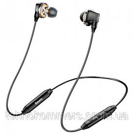 Навушники Baseus Encok S10 Dual Moving-coil Wireless Headset Black