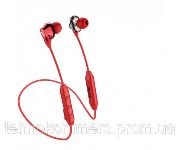 Навушники Baseus Encok S10 Bluetooth Red, фото 2