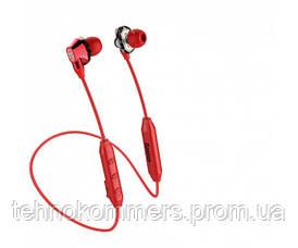 Навушники Baseus Encok S10 Dual Moving-coil Wireless Headset Red