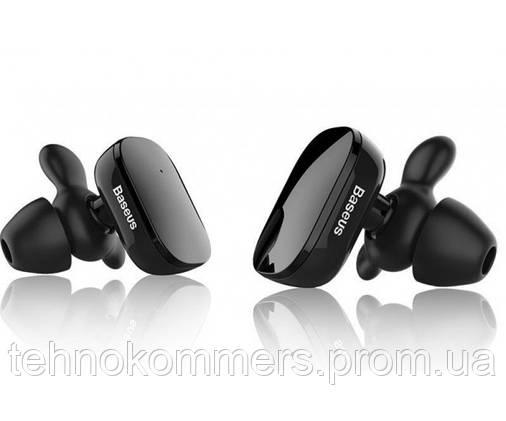 Навушники Baseus TWS W02 Bluetooth Black, фото 2