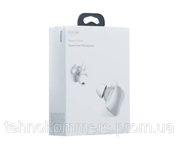 Навушники Baseus TWS W02 Bluetooth White