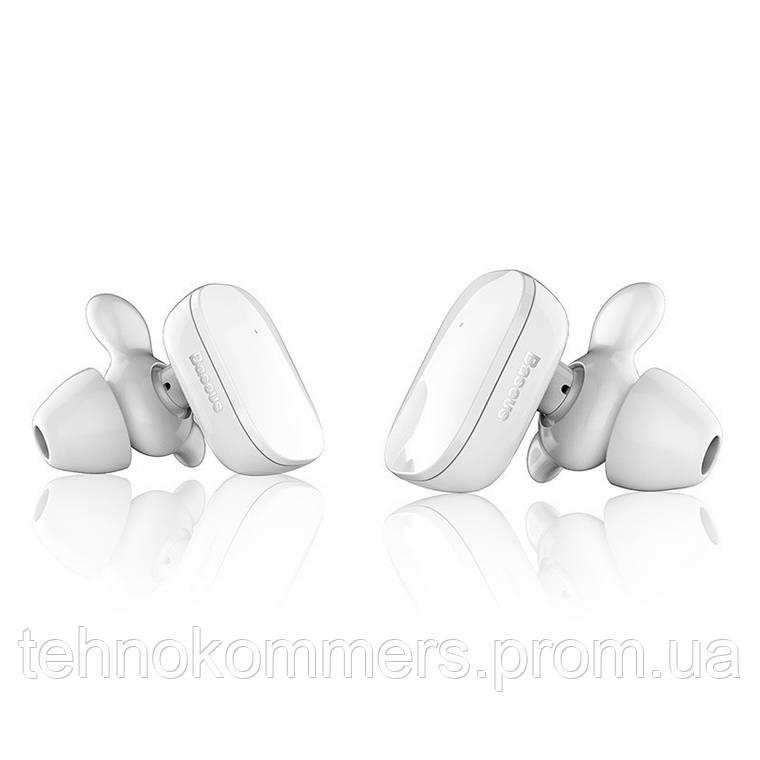Навушники Baseus TWS W02 Bluetooth White, фото 2