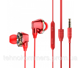 Навушники Baseus Encok H10 3.5 мм (mini-Jack) Red