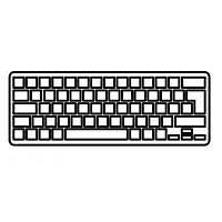 Клавиатура ноутбука HP Folio 13 Series черная с черной рамкой подсветкой RU