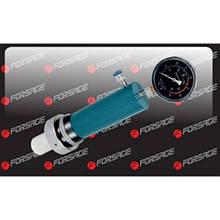 Цилиндр гидравлический с манометром 10т-12т, (ход штока: 135мм)