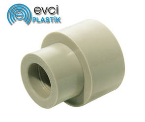 Муфта Evci Plastik 63х40 поліпропіленова