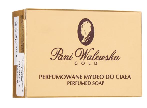 Крем-мило парфумована Пані Валевська Soap Pani Walewska Gold
