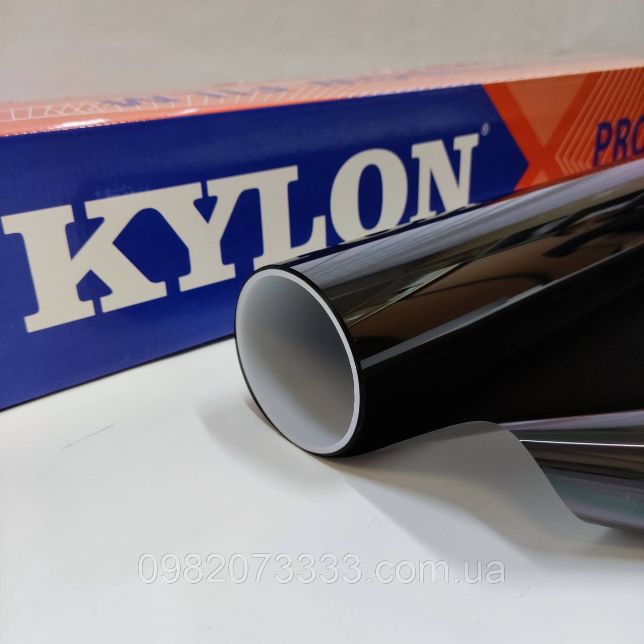 Автомобильная NR Black 15 (цвет: чёрный) тонировочная солнцезащитная плёнка Kylon ширина 1,524 (цена за кв.м.)