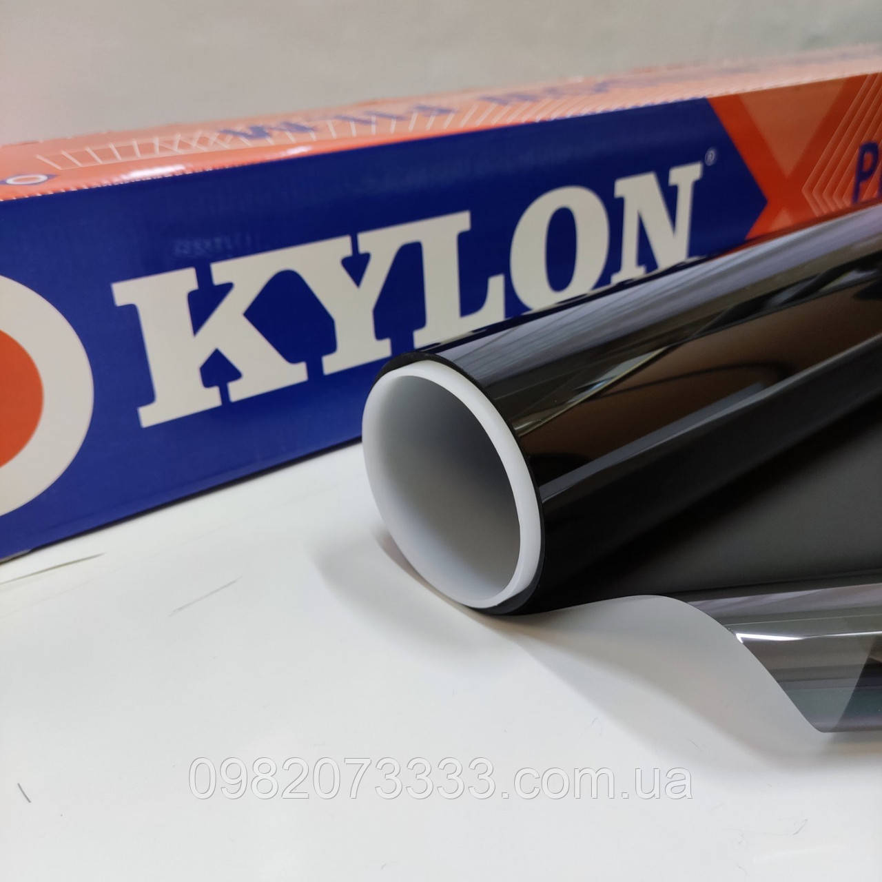 Автомобильная NR Black 35 (цвет: чёрный) тонировочная солнцезащитная плёнка Kylon ширина 1,524 (цена за кв.м.)