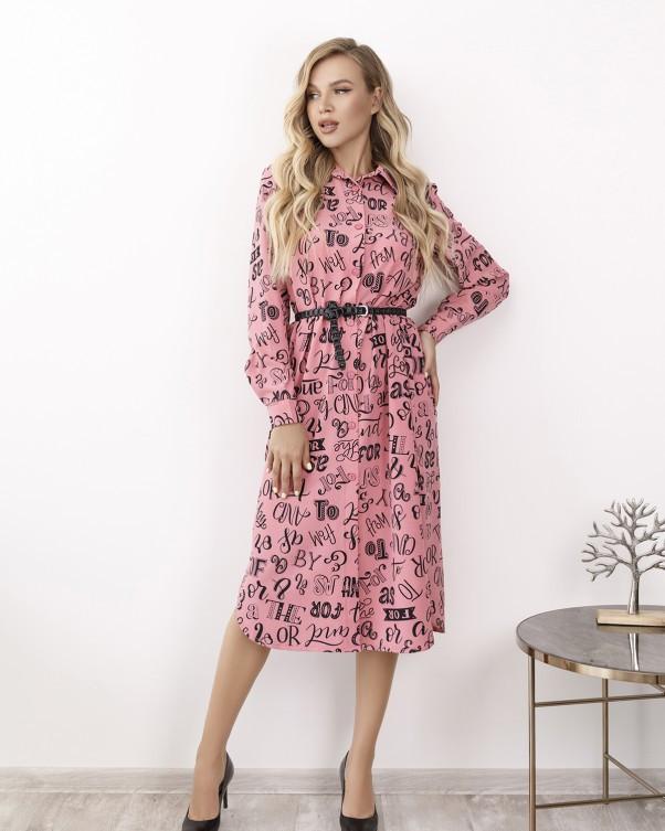 Платья  12172  S розовый