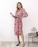 Платья  12172  S розовый, фото 2