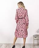 Платья  12172  S розовый, фото 3
