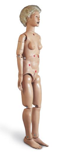 Манекен женщины для практики основных процедур по уходу за больными.