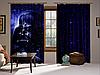 Штори 3D Darth Vader Нічний космос, комплект з 2-х штор